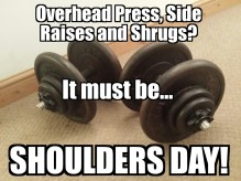 Shoulders Day